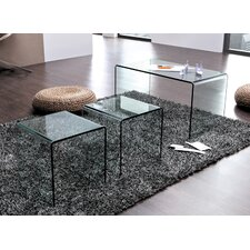 Modena 3 Piece Coffee Table Set