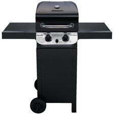 Performance 2-Burner Propane Gas Grill with Side Shelves