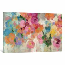 Colorful Garden I Painting Print on Wrapped Canvas