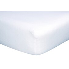 100% Deluxe Cotton Jersey Flat Crib Sheet