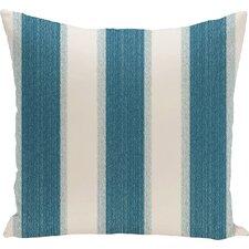 Exie Striate Stripe Stripe Print Throw Pillow