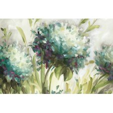 Hydrangea Field' by Lisa Audit painting on Wrapped Canvas