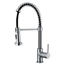 Edison Single Handle Pull-Down Spray Kitchen Faucet