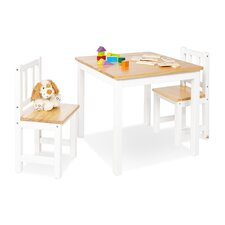 Fenna 3 Piece Writing Table Set