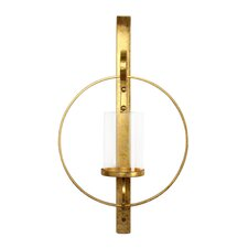 Gold Metal Sconce