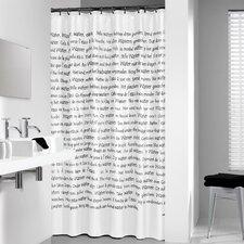 Sayings Vinyl Shower Curtain