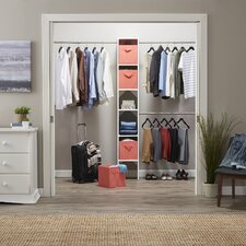 "SuiteSymphony 72""W - 108""W Closet System with 2 Bins"