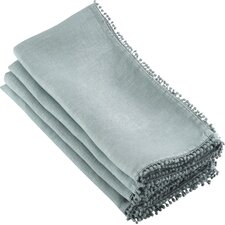 Maplecrest PomPom Napkin (Set of 4)