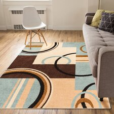 Darrius Boombastic Light Blue Area Rug