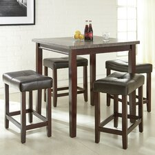 5 Piece Counter Height Dining Set by Brady Furniture Industries