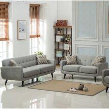 Modibella 2 Piece Living Room Set