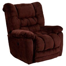 Lawnton Contemporary Microfiber Power Recliner with Push Button