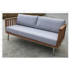 Sengl Sofa with Cushions