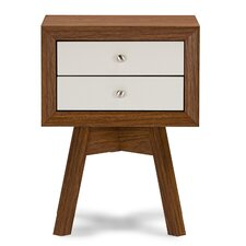 Peabody 2 Drawer Nightstand