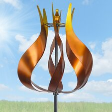 Kinetic Tulip Wind Spinner