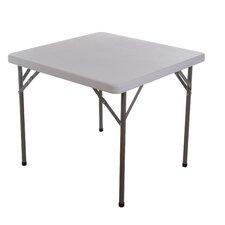 "HomCom 34"" Square Folding Table"