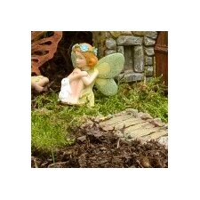 Fairy Annie with Bunny Pick Statue (Set of 3)