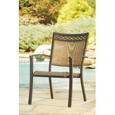 Antila Stacking Dining Arm Chair (Set of 4)