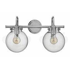 Buffalo 2-Light Vanity Light