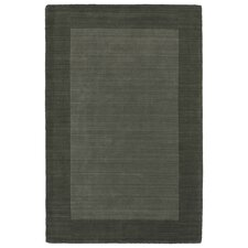 Attles Solid Charcoal Area Rug