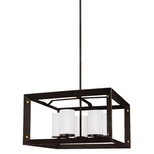 Chatauqua 9W 5-Light Shaded Chandelier