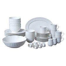 Regalia 46 Piece Dinnerware Set, Service for 6