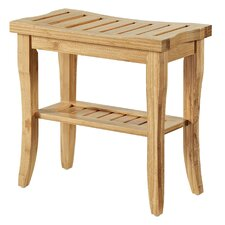 Cozumel Bamboo Accent Stool
