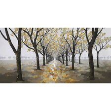 Pathway Painting on Wrapped Canvas