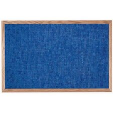 Designer Fabric Wall Mounted Bulletin Board