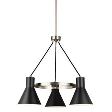 Towner 3-Light Shaded Chandelier