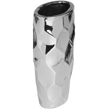 Ceramic Oval Floor Vase