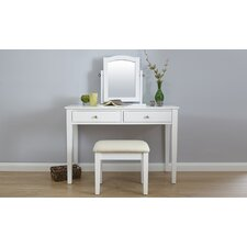 Virginis Dressing Table Set with Mirror