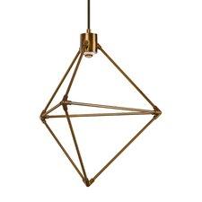 Candora 1-Light LED Geometric Pendant