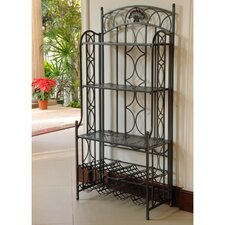 Abbottsmoor 5-Tier Iron Indoor/Outdoor Bakers Rack