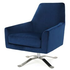 Edmund Swivel Club Chair