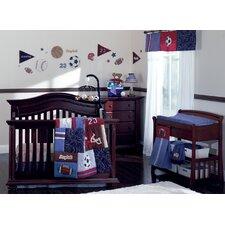 Play Ball 9 Piece Crib Bedding Set