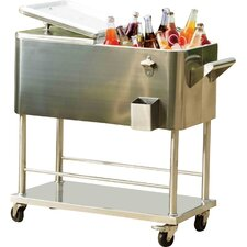 80 Qt. Grant Stainless Steel Cooler