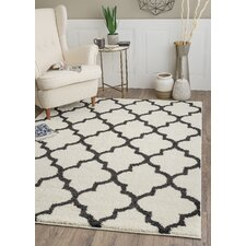 Ryder White/Black Area Rug