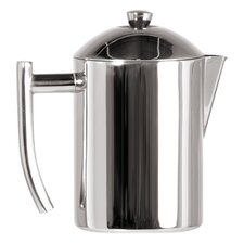 Stainless Steel 0.5-Quart Tea Maker with Infuser Basket