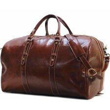 """Venezia 22"""" Leather Travel Duffel"""