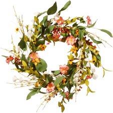 "22"" Spring Flower Wreath"