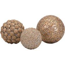 quick view 3 piece decorative orb set - Decorative Orbs