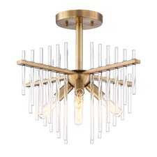 Reeve 4-Light Semi Flush Mount