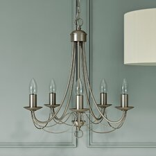 Maypole 5 Light Candle-Style Chandelier