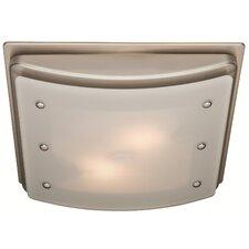 Ellipse 100 CFM Bathroom Fan with Light