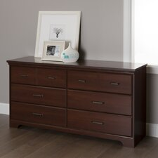 Versa 6 Drawer Double Dresser by South Shore