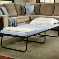 Metal Folding Bed with Mattress