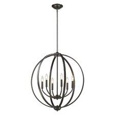 Griffin 6-Light Globe Pendant