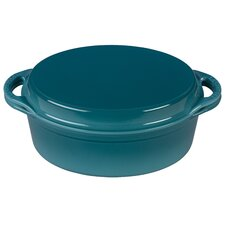 4.75 Qt Oval Cast Iron Dutch Oven