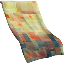 Jacqueline Maldonado Cubism Dream Throw Blanket